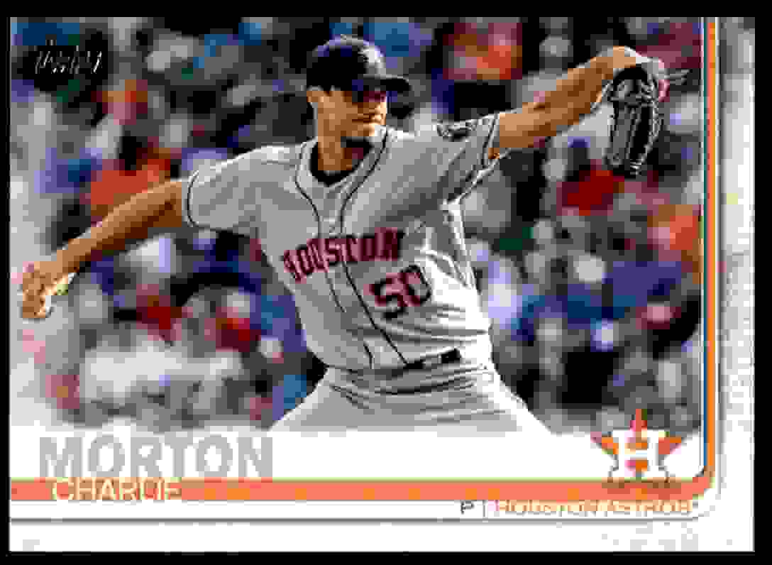 2019 Topps Charlie Morton #169 card front image