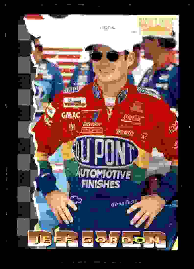 1996 Racer's Choice Promo Jeff Gordon #P9 card front image