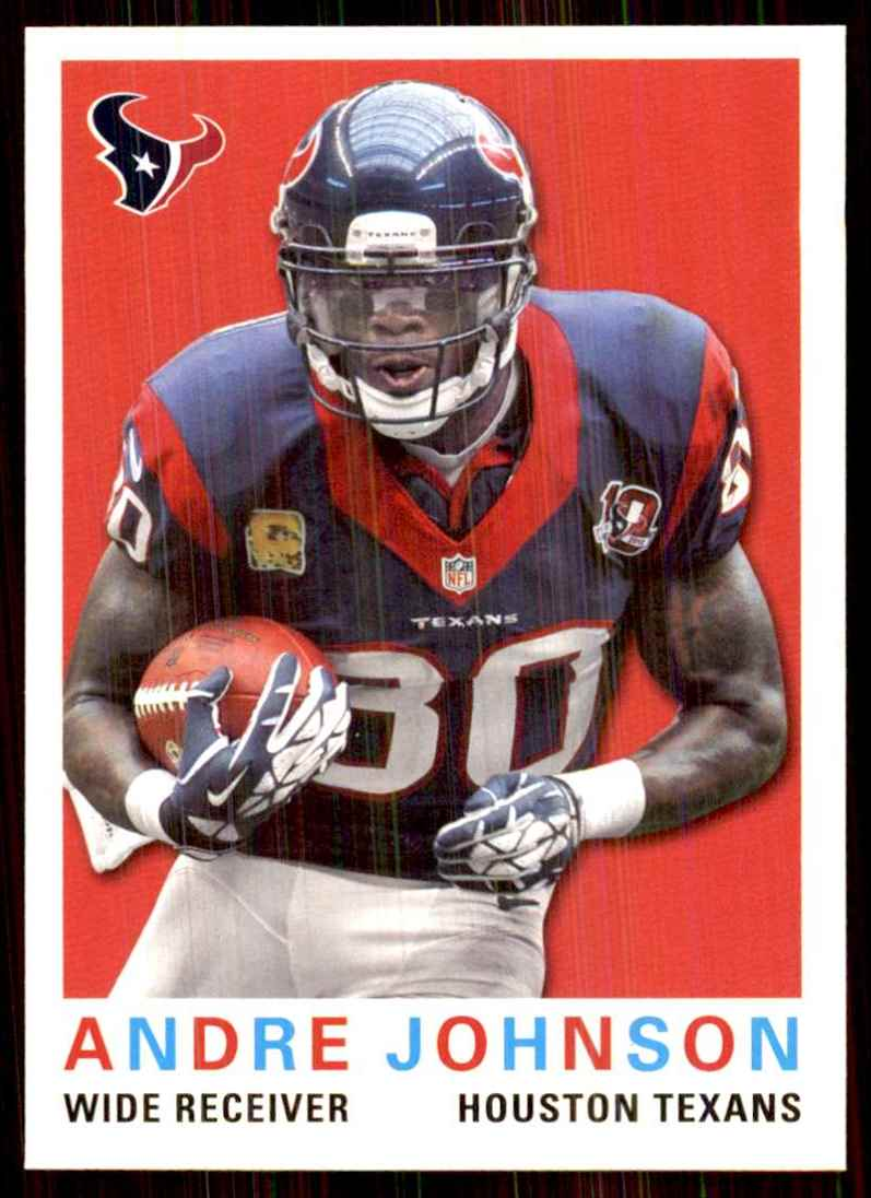 2013 Topps Archives Andre Johnson #169 card front image