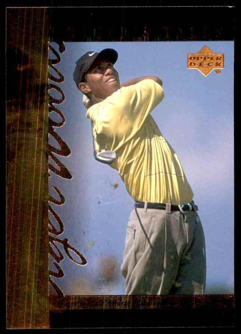 2001 Upper Deck Tiger's Tales Tiger Woods #TT16 card front image