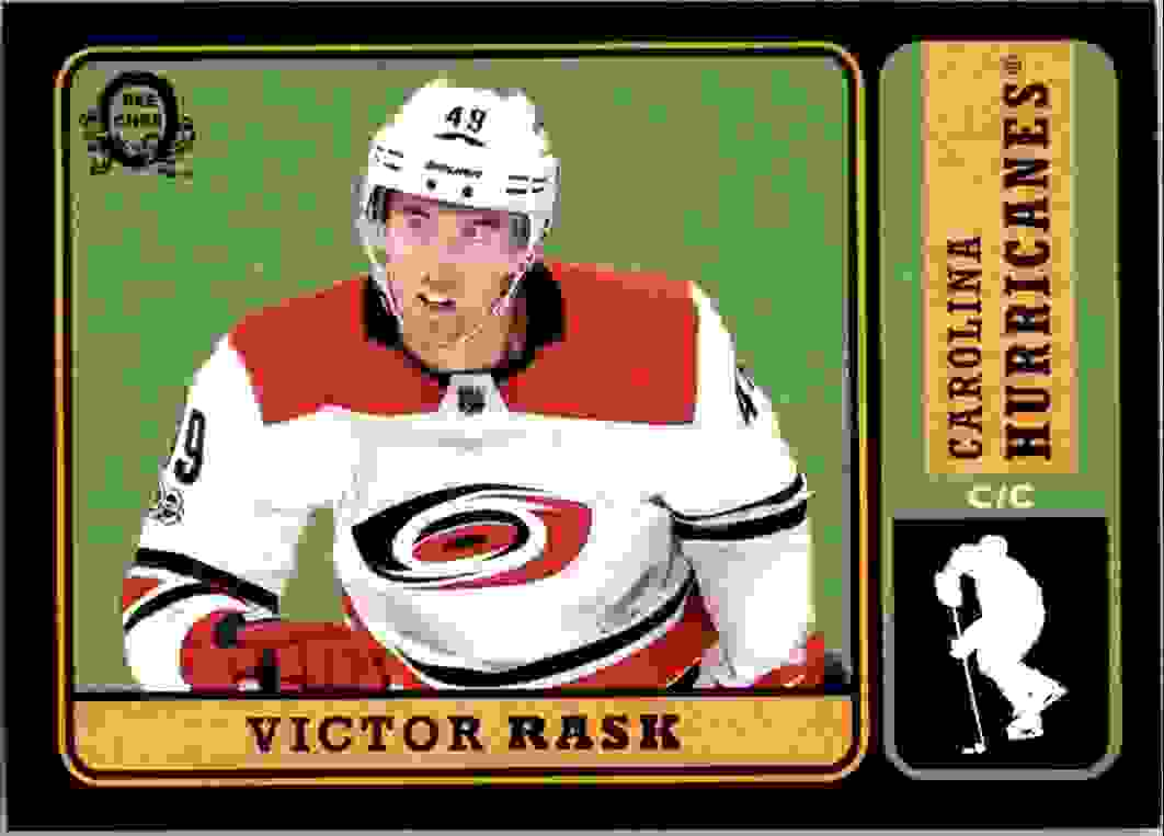 2018-19 O-Pee-Chee Black Victor Rask #228 card front image