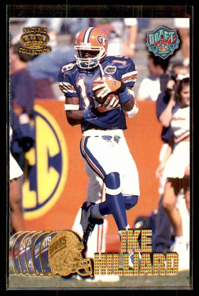 1997 Pacific Ike Hilliard #436 card front image