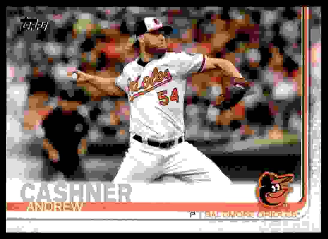 2019 Topps Andrew Cashner #338 card front image