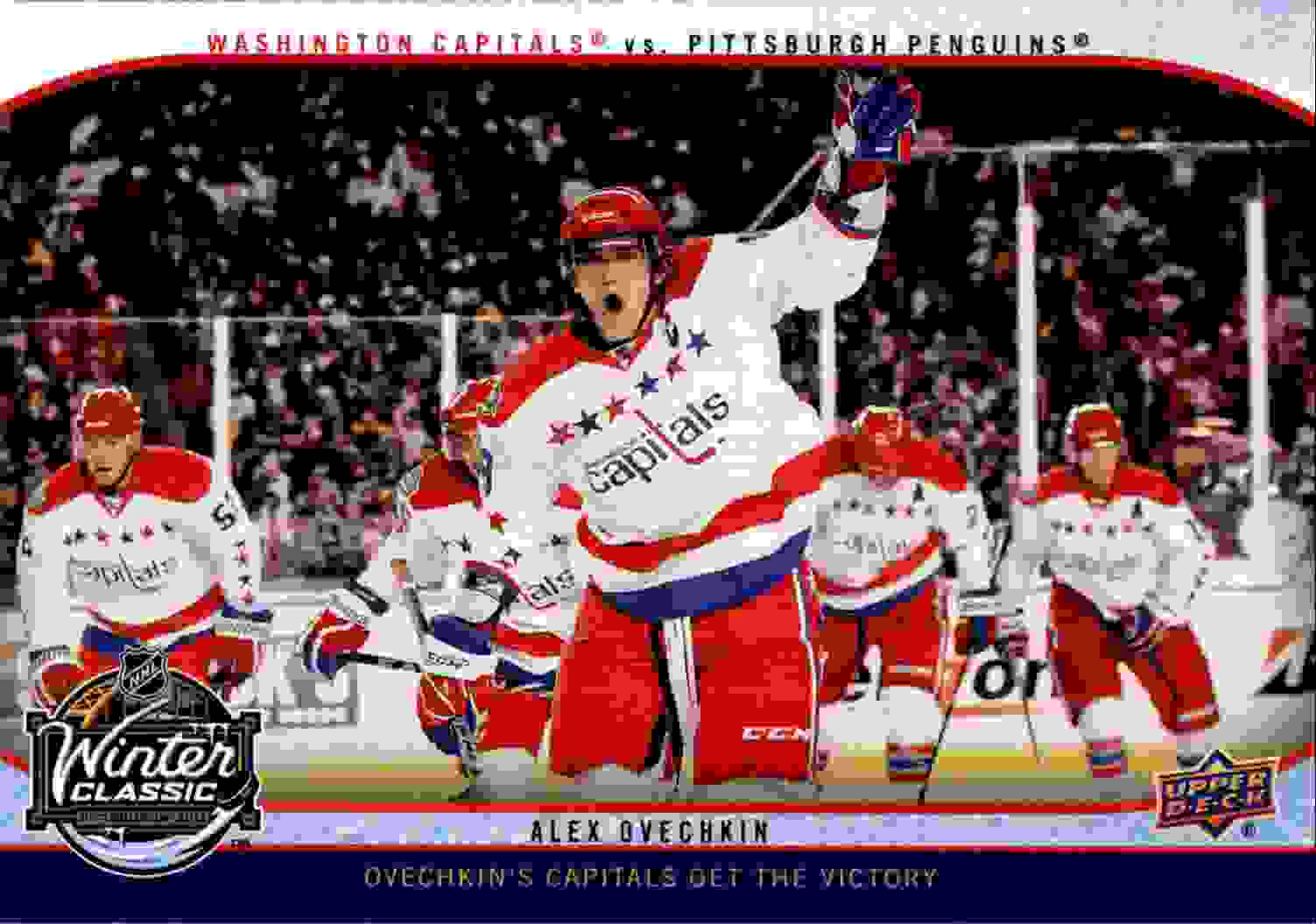 2011-12 Upper Deck Winter Classic Oversized Alexander Ovechkin #WC2 card front image