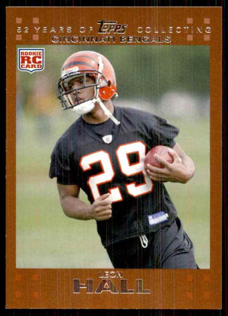 2007 Topps Copper Leon Hall #373 card front image