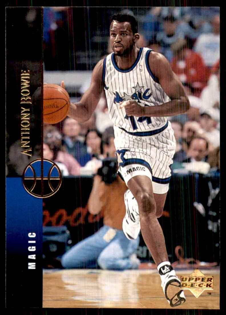 1994-95 Upper Deck Anthony Bowie #123 card front image