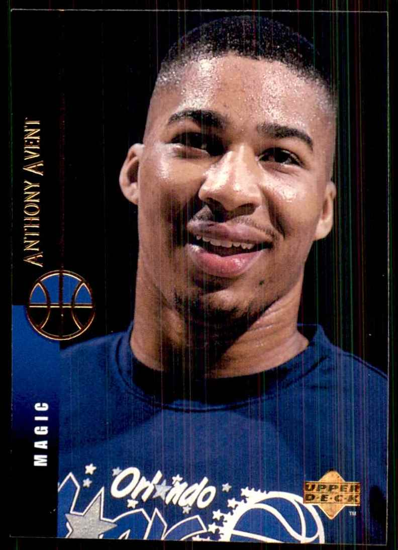 1994-95 Upper Deck Anthony Avent #154 card front image