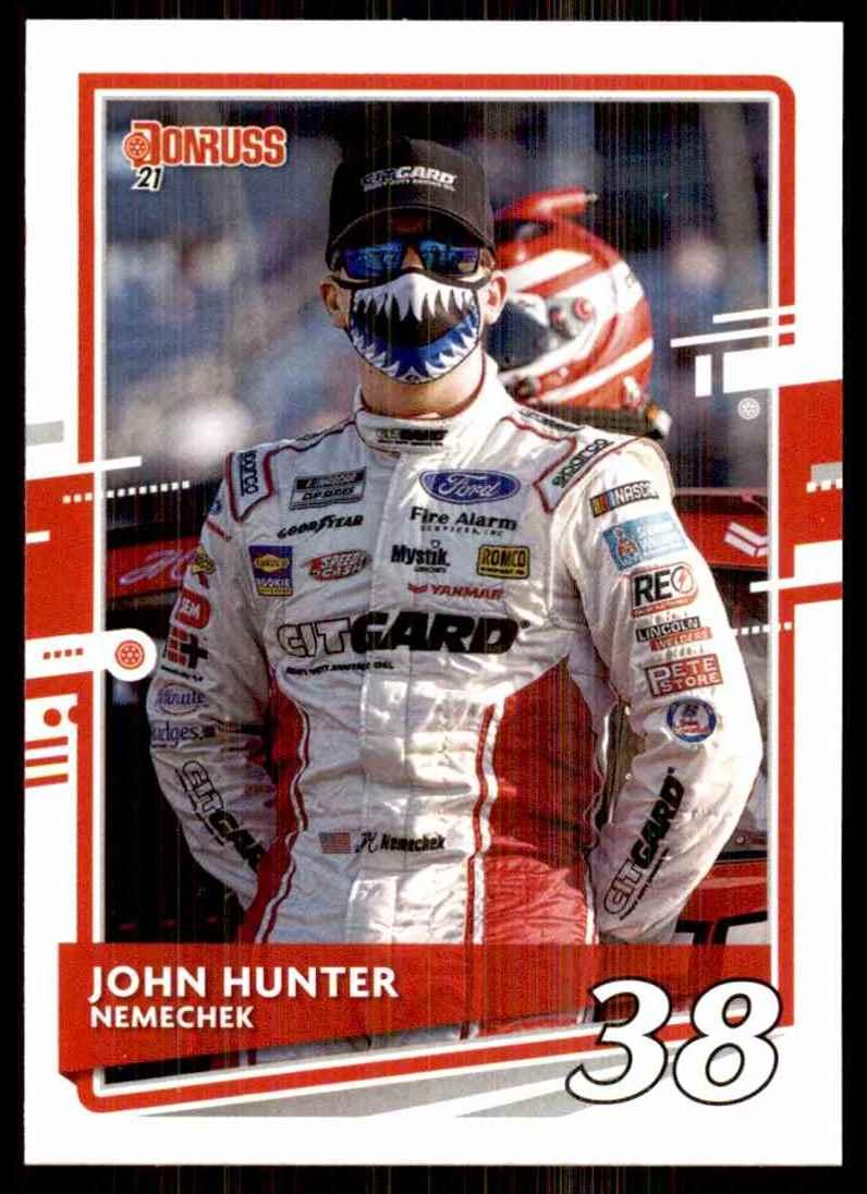 2021 Donruss John Hunter Nemechek #64 card front image