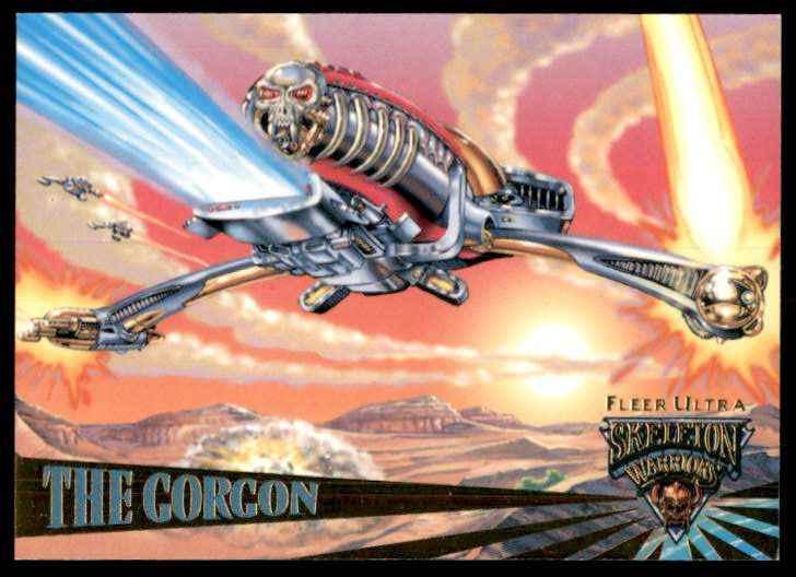 1995 Skeleton Warriors Ultra Fleer The Gorgon #66 card front image