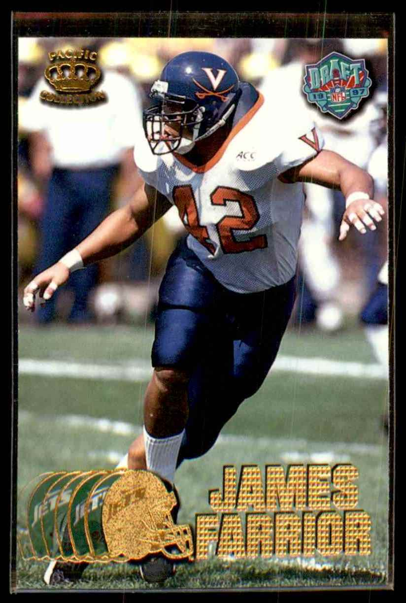 1997 Pacific James Farrior #433 card front image