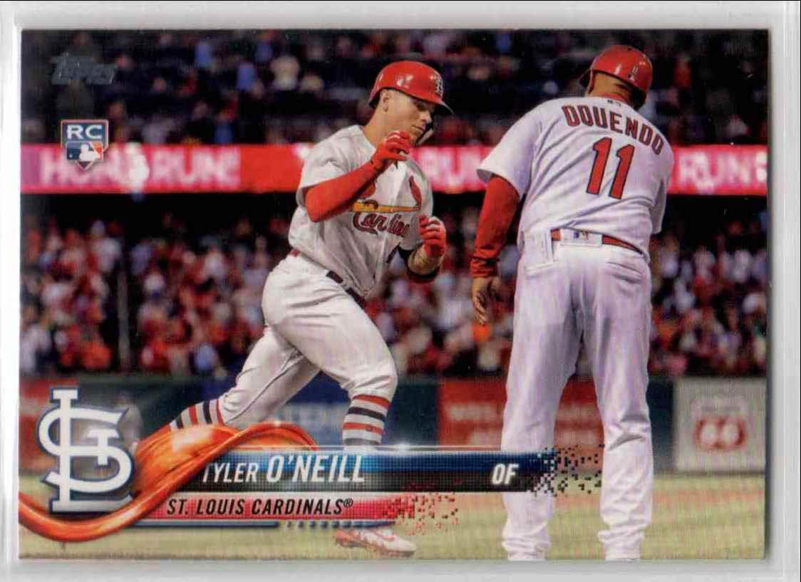 2018 Topps Update Tyler O'Neill #US218 card front image