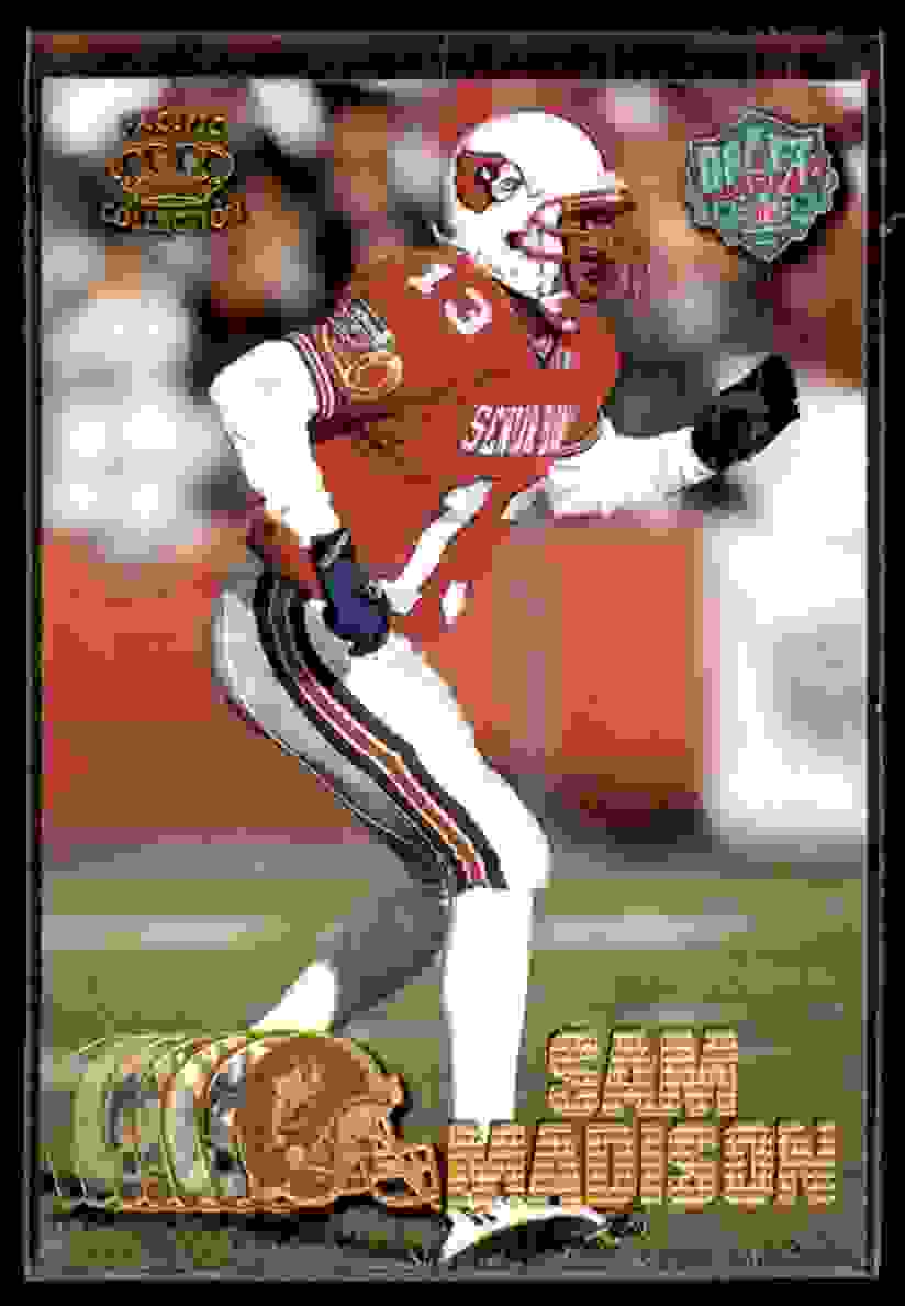 1997 Pacific Sam Madison #439 card front image