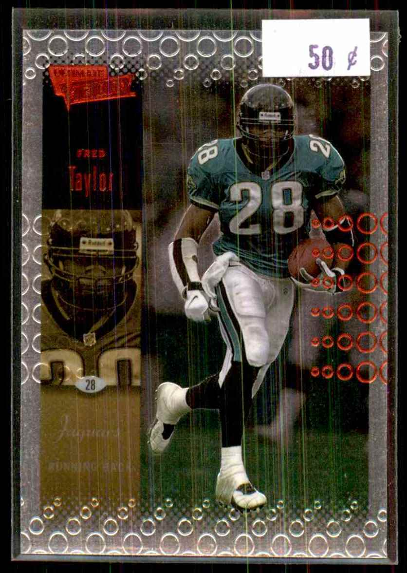 2000 Upper Deck Ultimate Victory Fred Taylor #42 card front image