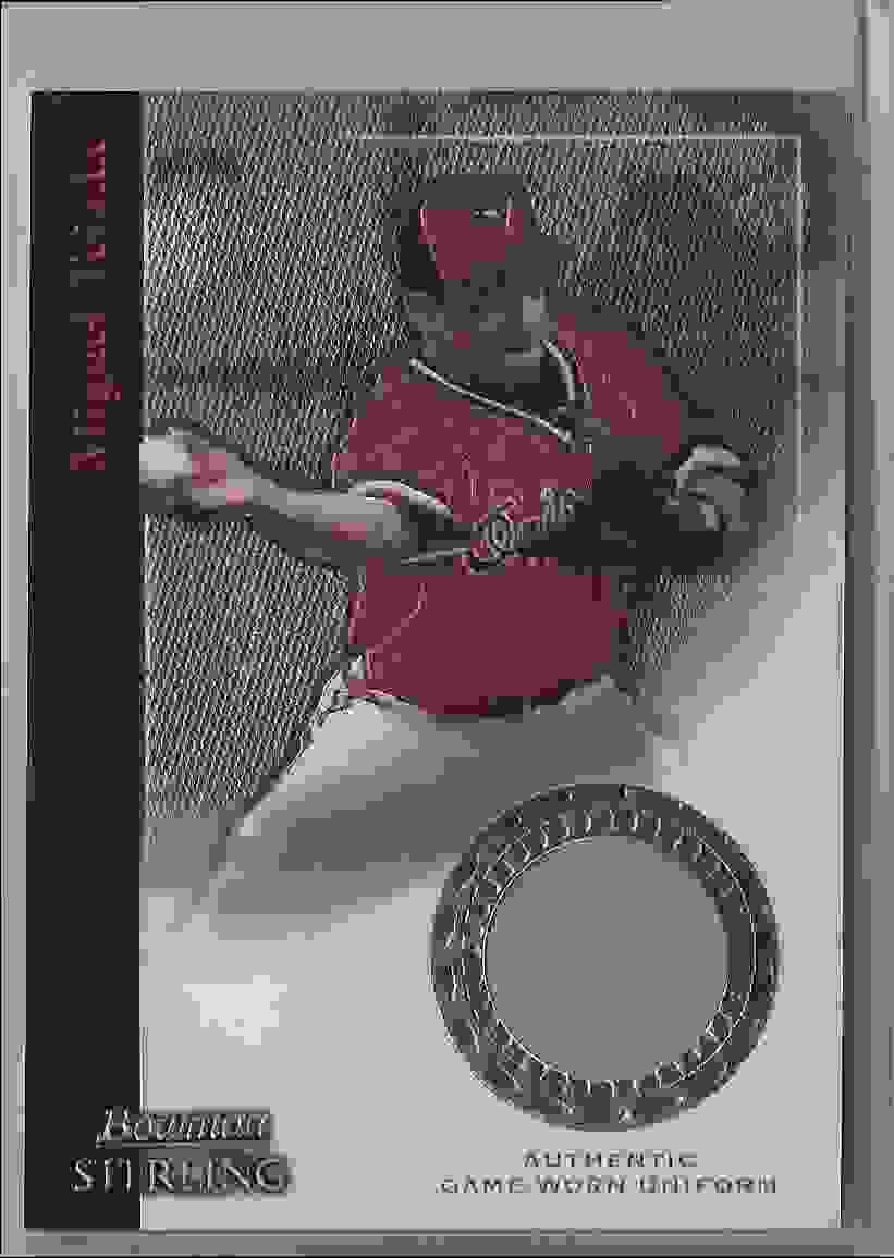2004 Bowman Sterling Miguel Tejada #MT2 card front image