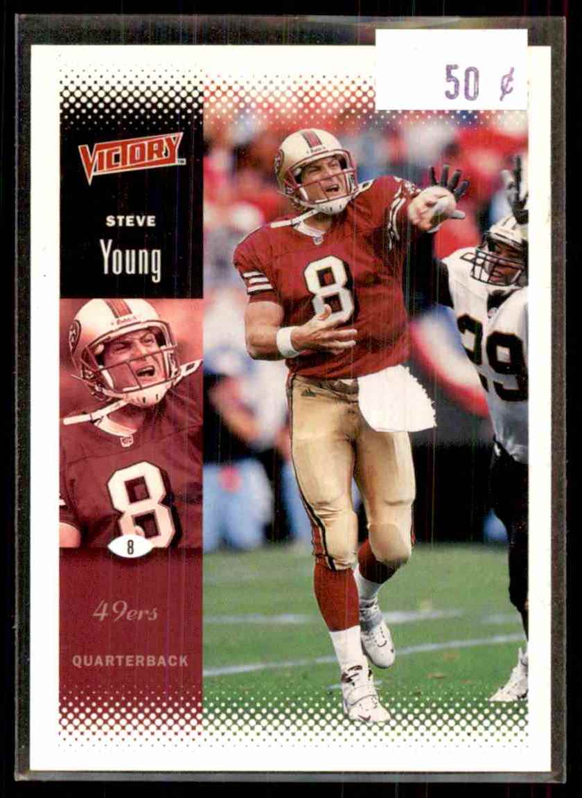 2000 Upper Deck Victory Steve Young #162 card front image