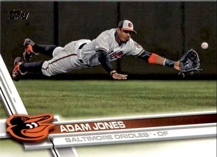 2017 Topps Series 2 Adam Jones #495 card front image