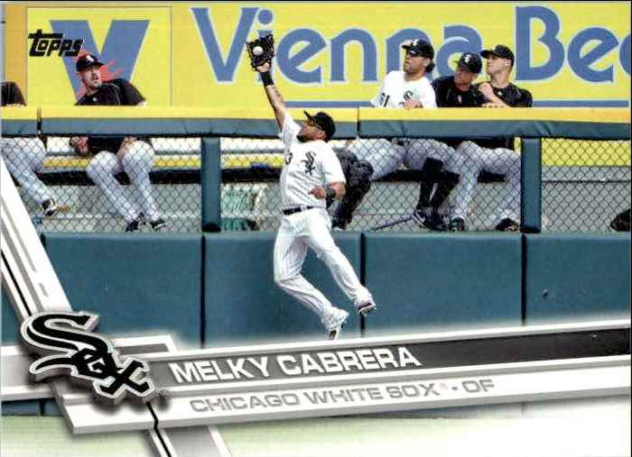2017 Topps Series 2 Melky Cabrera #659 card front image
