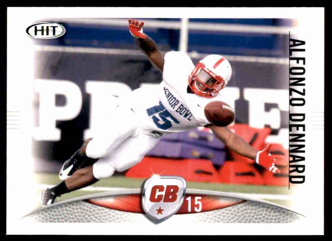 2012 Sage Hit Alfonzo Dennard #15 card front image