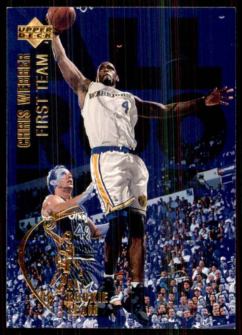 1994-95 Upper Deck Chris Webber Art #1 card front image