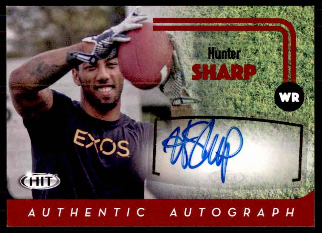 2016 Sage Hit Hunter Sharp card front image
