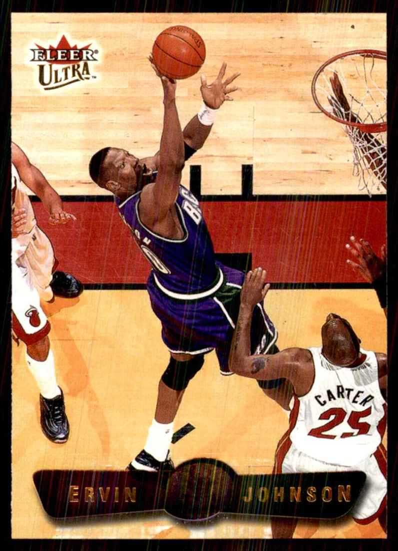2001-02 Ultra Ervin Johnson #53 card front image