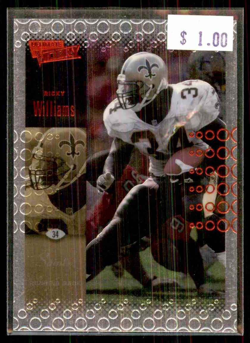 2000 Upper Deck Ultimate Victory Ricky Williams #55 card front image