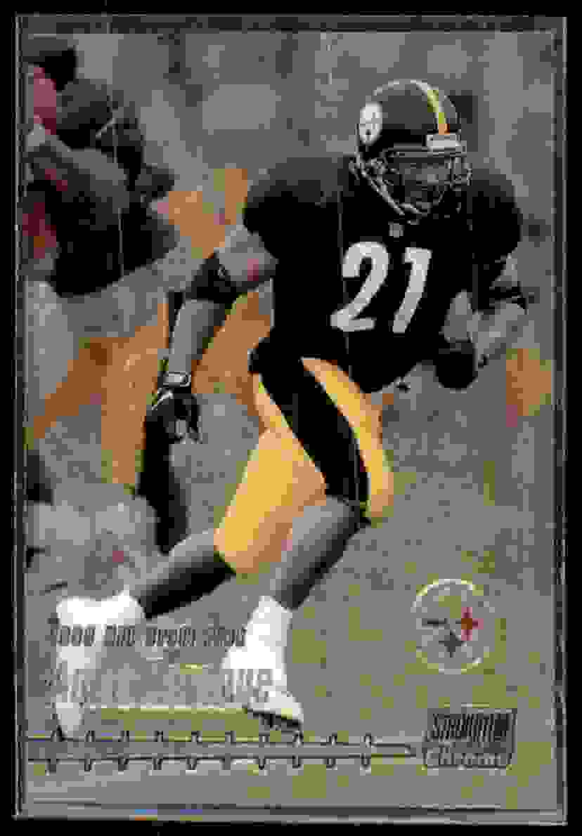1999 Stadium Club Chrome Amos Zereoue #120 card front image