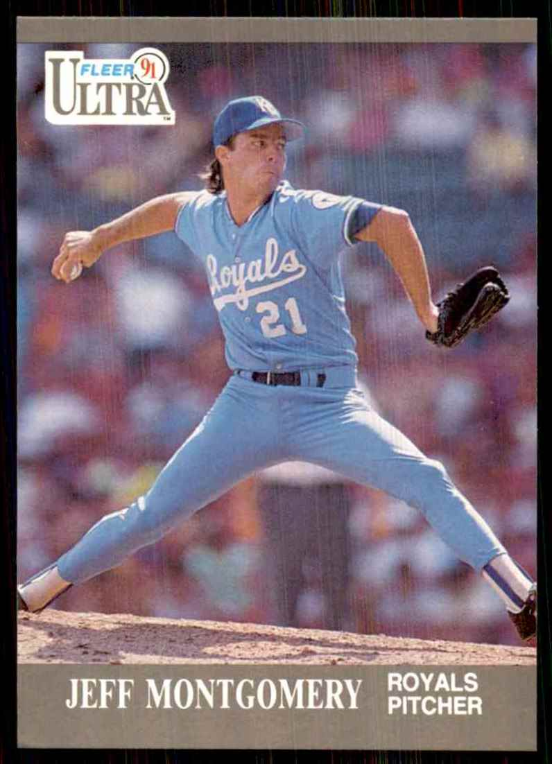 1991 Ultra Jeff Montgomery #153 card front image