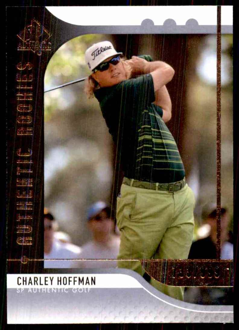 2012 SP Authentic Charley Hoffman/999 RC #88 card front image