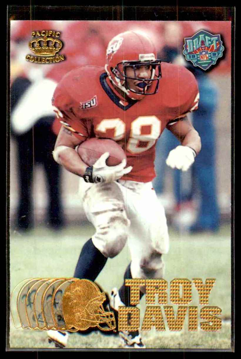 1997 Pacific Troy Davis #429 card front image