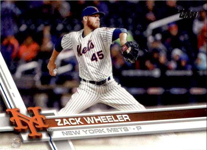 2017 Topps Series 2 Zack Wheeler #631 card front image