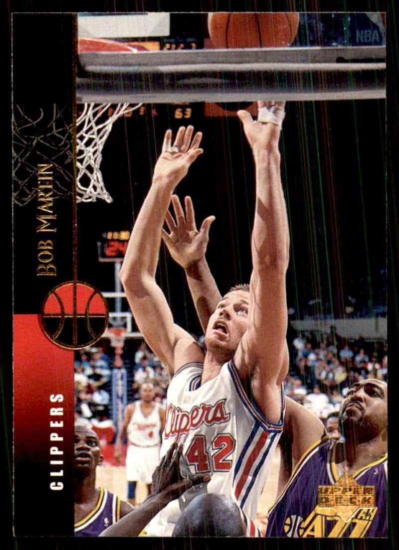 1994-95 Upper Deck Bob Martin #39 card front image