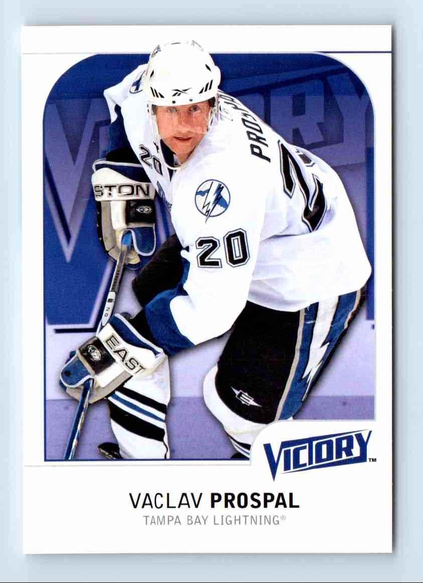 2009-10 Upper Deck Victory Vaclav Prospal #175 card front image