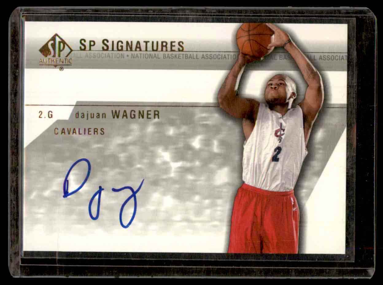 2003-04 SP Authentic Signatures Dajuan Wagner #DWA card front image