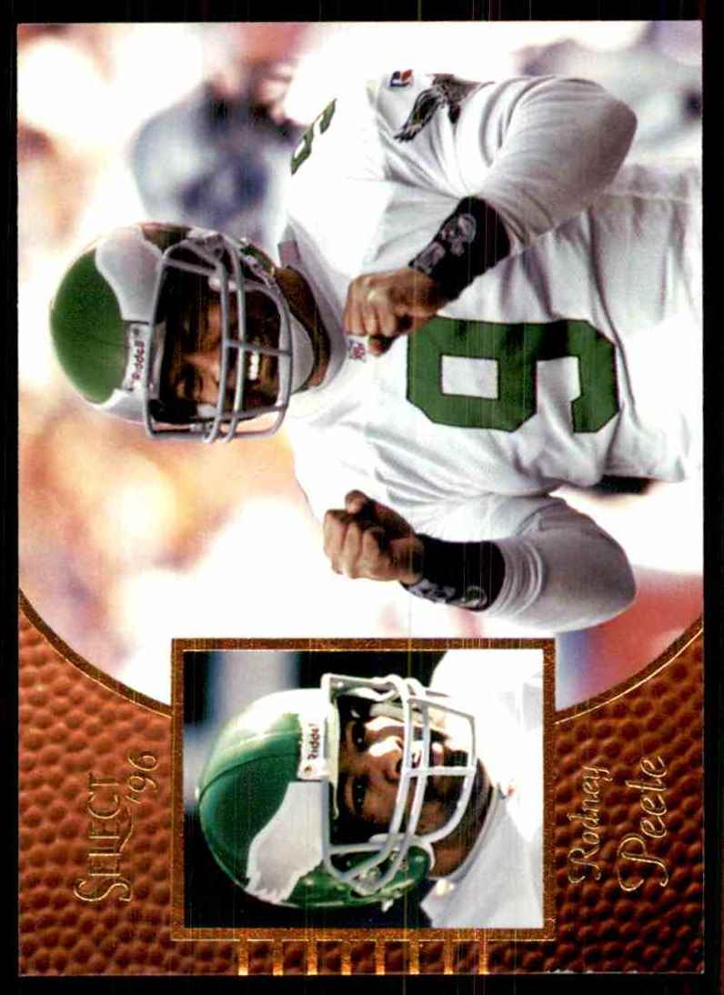 1996 Select Rodney Peete #69 card front image