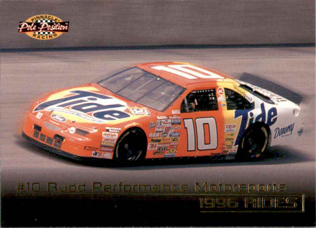 1996 Pinnacle Pole Position Ricky Rudd's Car #31 card front image