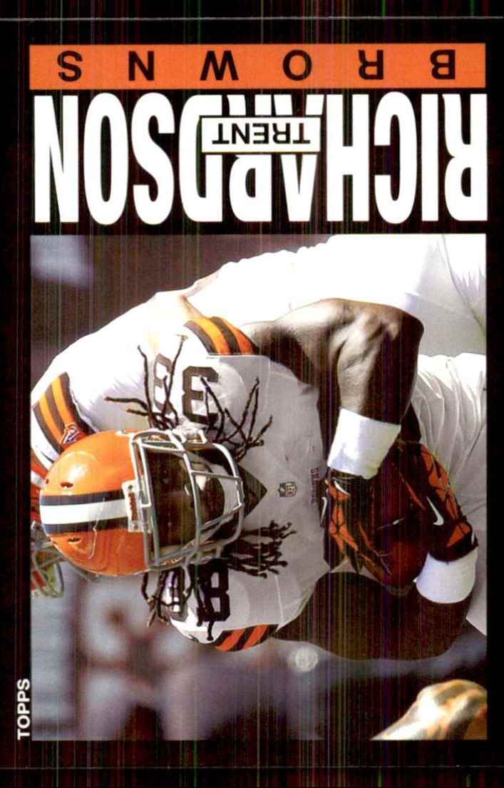 2013 Topps Archives Trent Richardson/(both Hands On Ball) #75 card front image