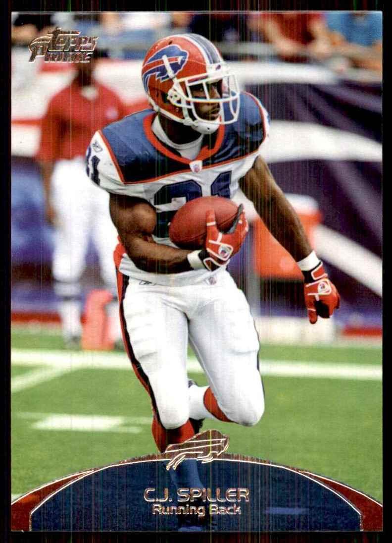 2011 Topps Prime C.J. Spiller #102 card front image
