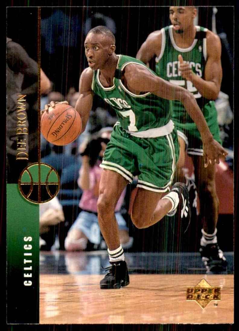 1994-95 Upper Deck Dee Brown #52 card front image