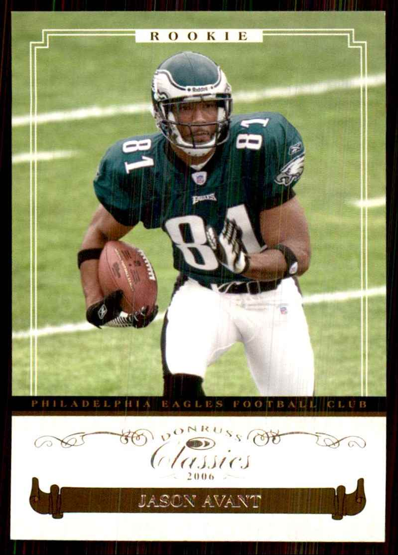 2006 Donruss Classics Jason Avant/1499 RC #140 card front image