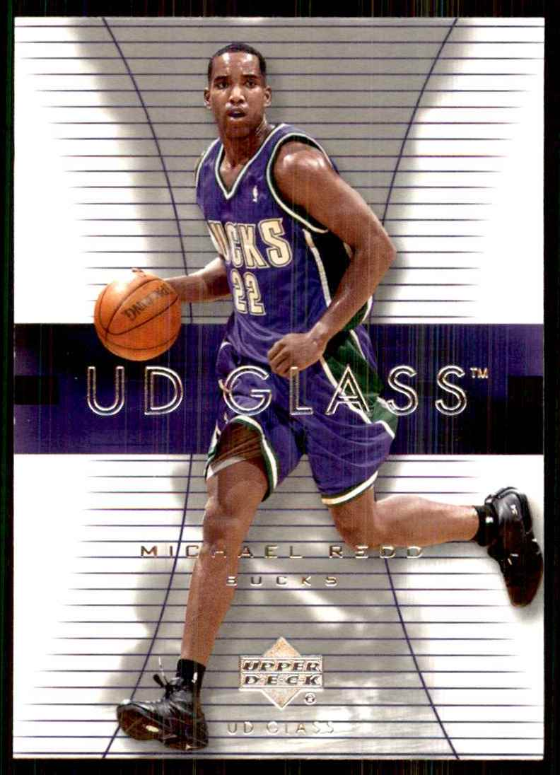 2003-04 UD Glass Michael Redd #32 card front image