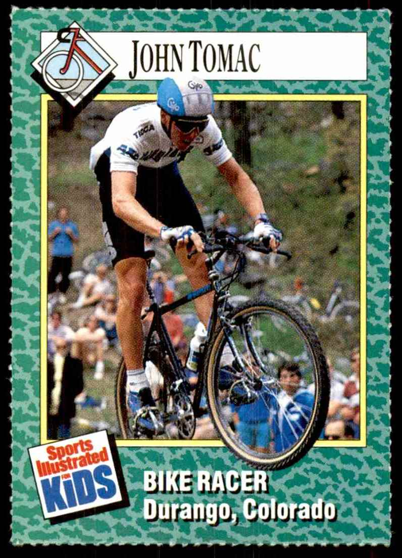 1990-91 Sports Illustrated For Kids John Tomac/Bike Racing #174 card front image