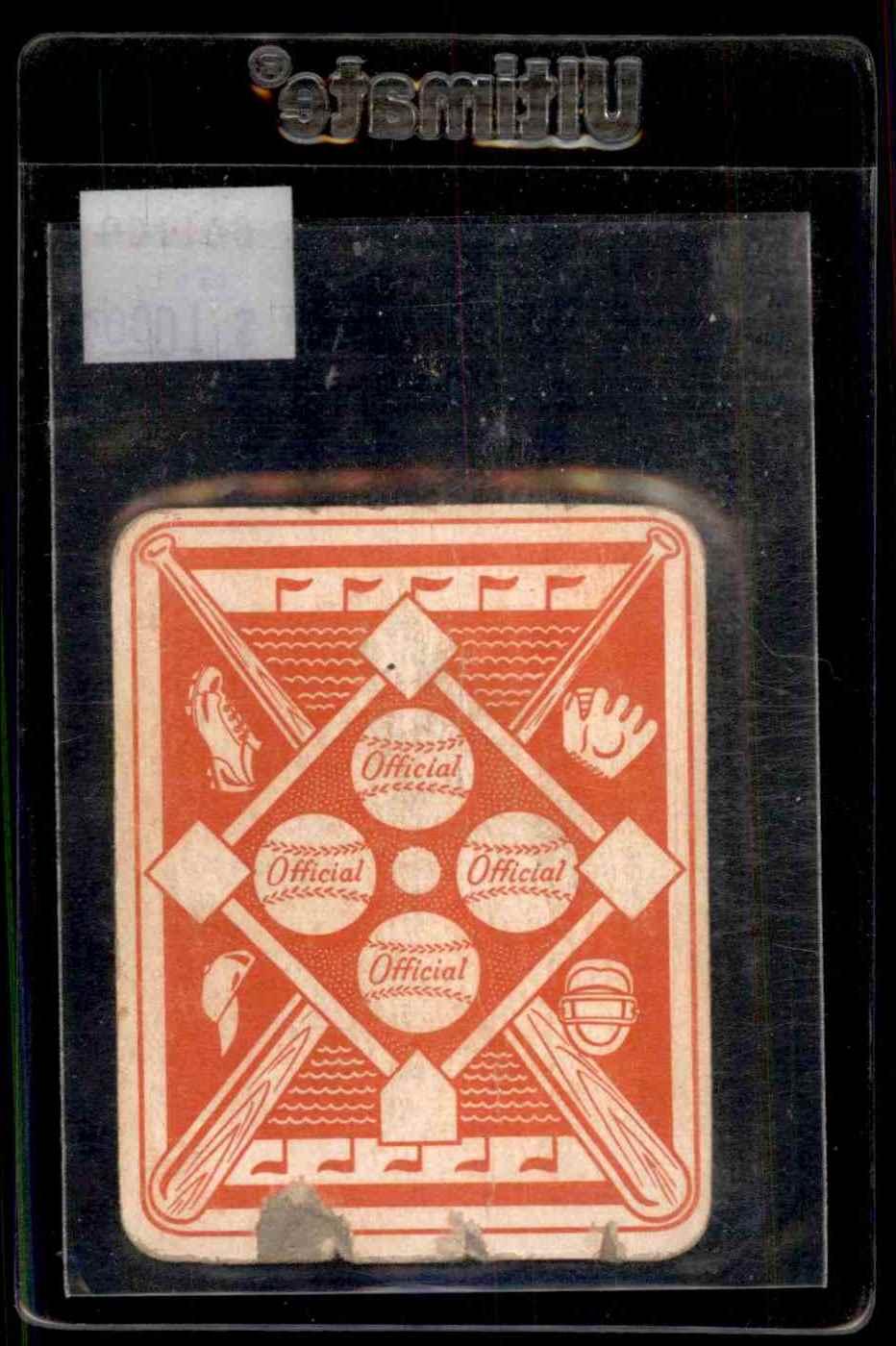1951 Topps Red Backs Ferris Fain #3 card back image