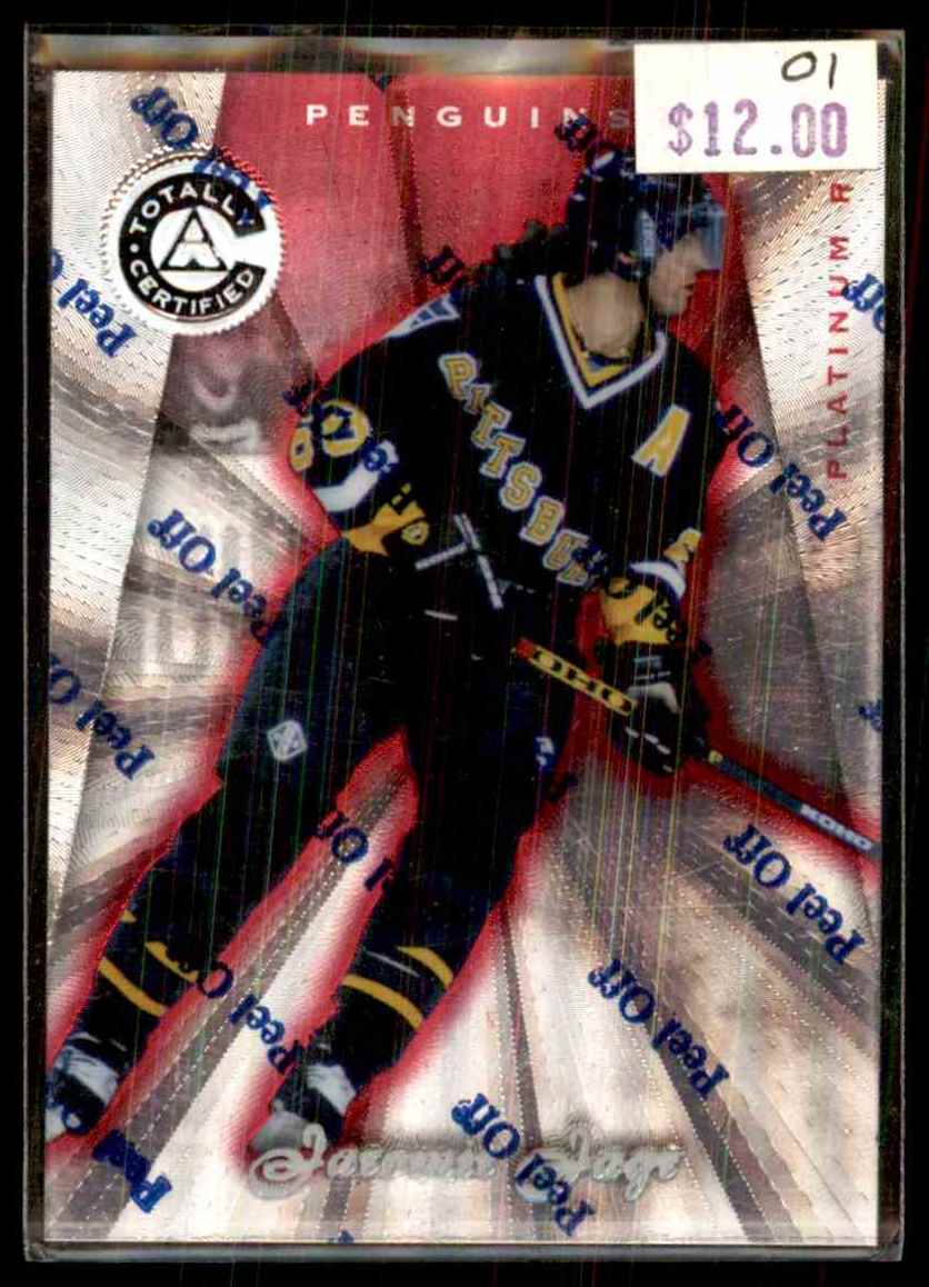 1997-98 Totally Certified Platinum Red Jaromir Jagr #35 card front image