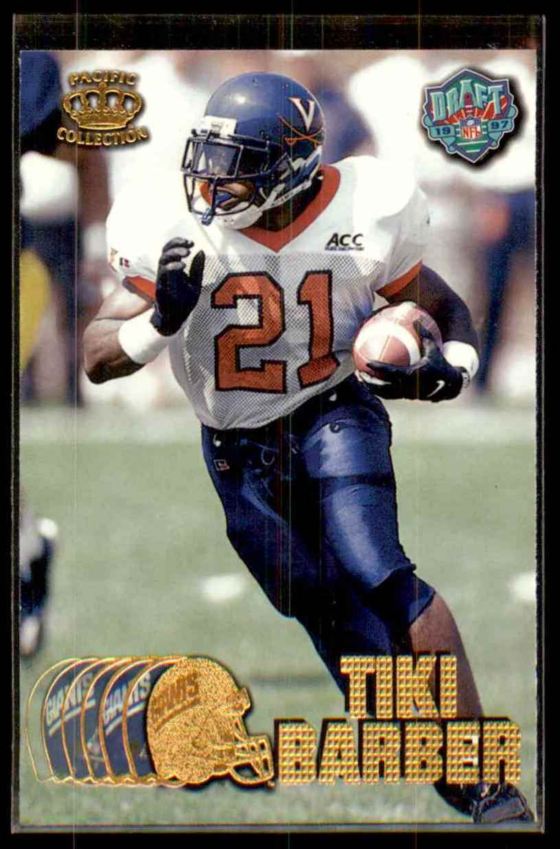 1997 Pacific Tiki Barber #423 card front image
