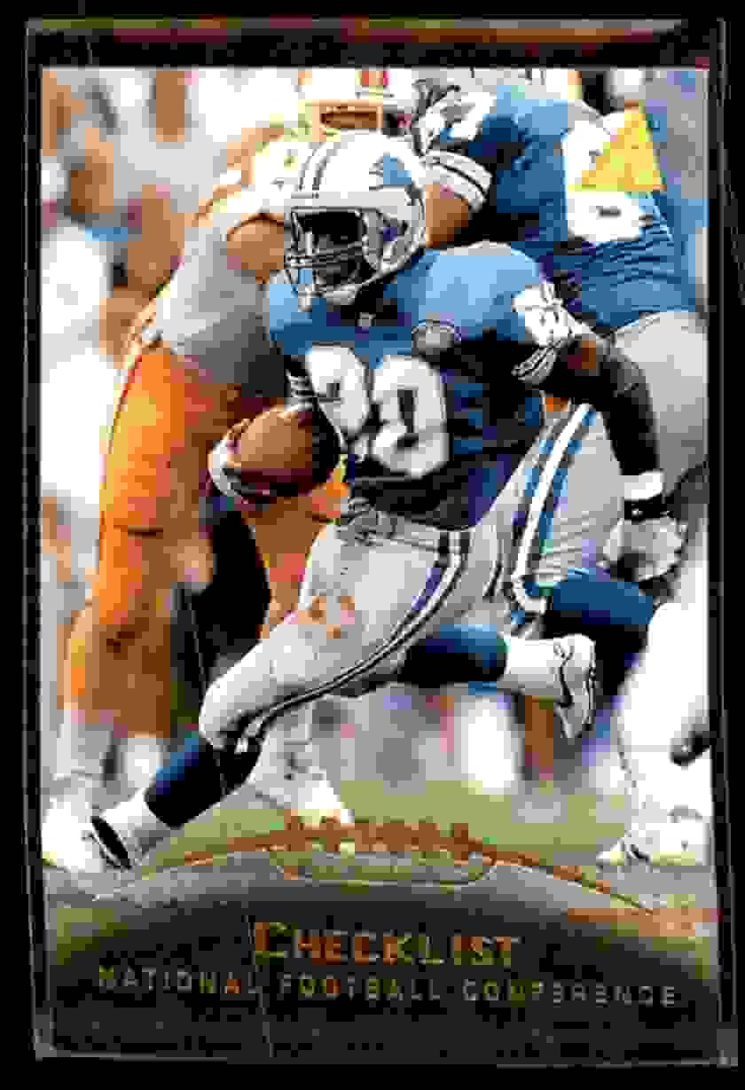 1995 Pinnacle Barry Sanders #249 card front image
