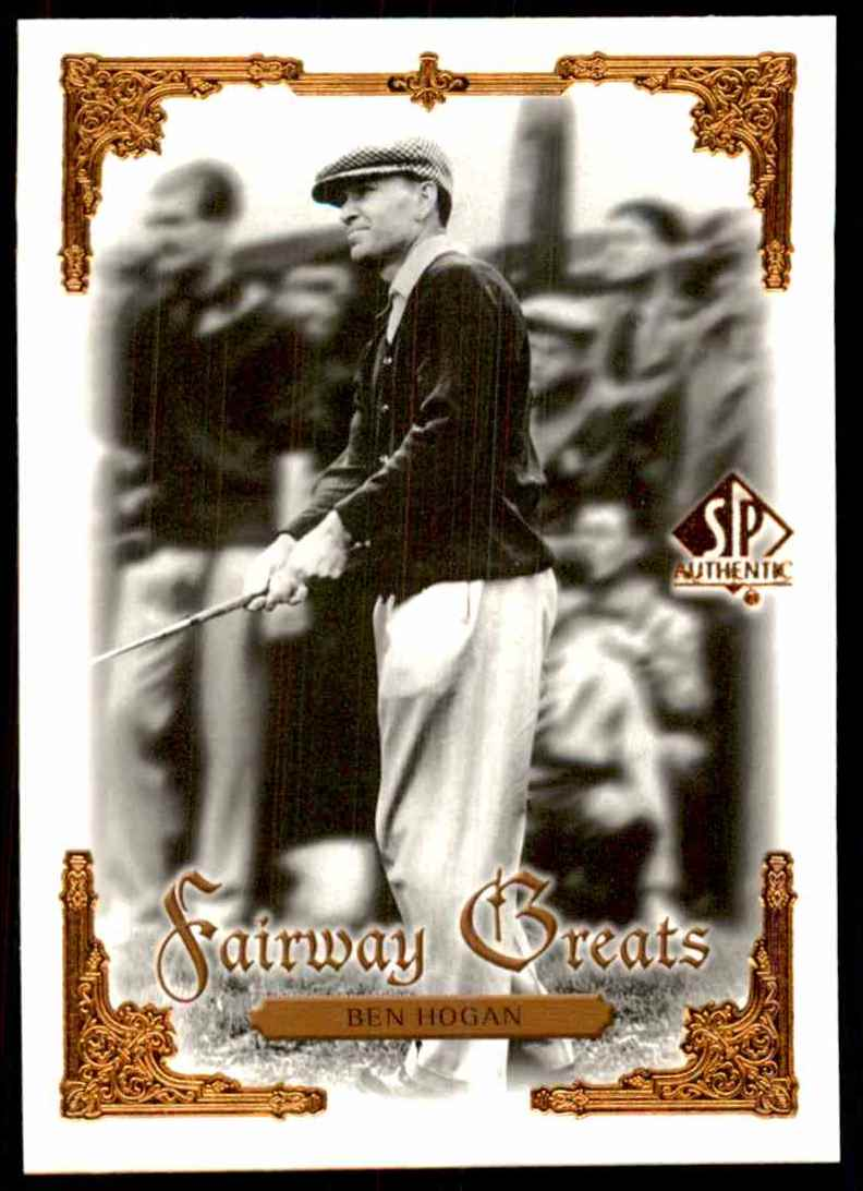 2001 SP Authentic Ben Hogan Fg #91 card front image