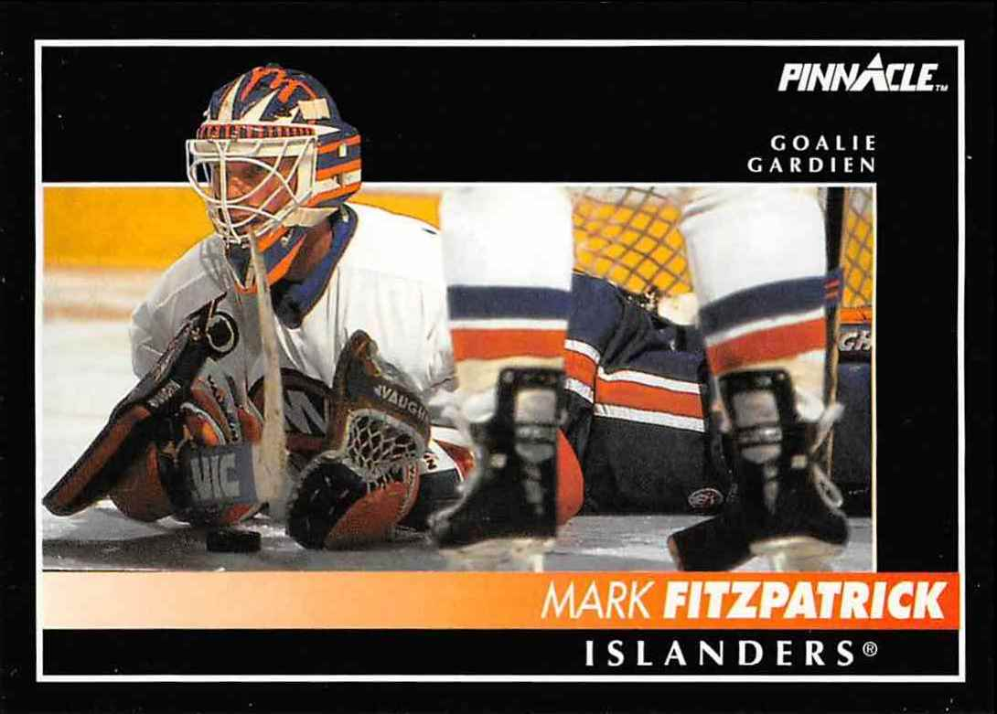 1992-93 Pinnacle French Mark Fitzpatrick #24 card front image