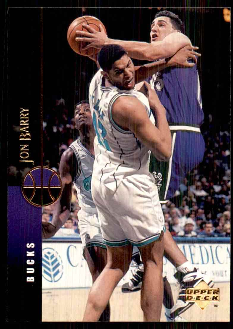 1994-95 Upper Deck Jon Barry #147 card front image
