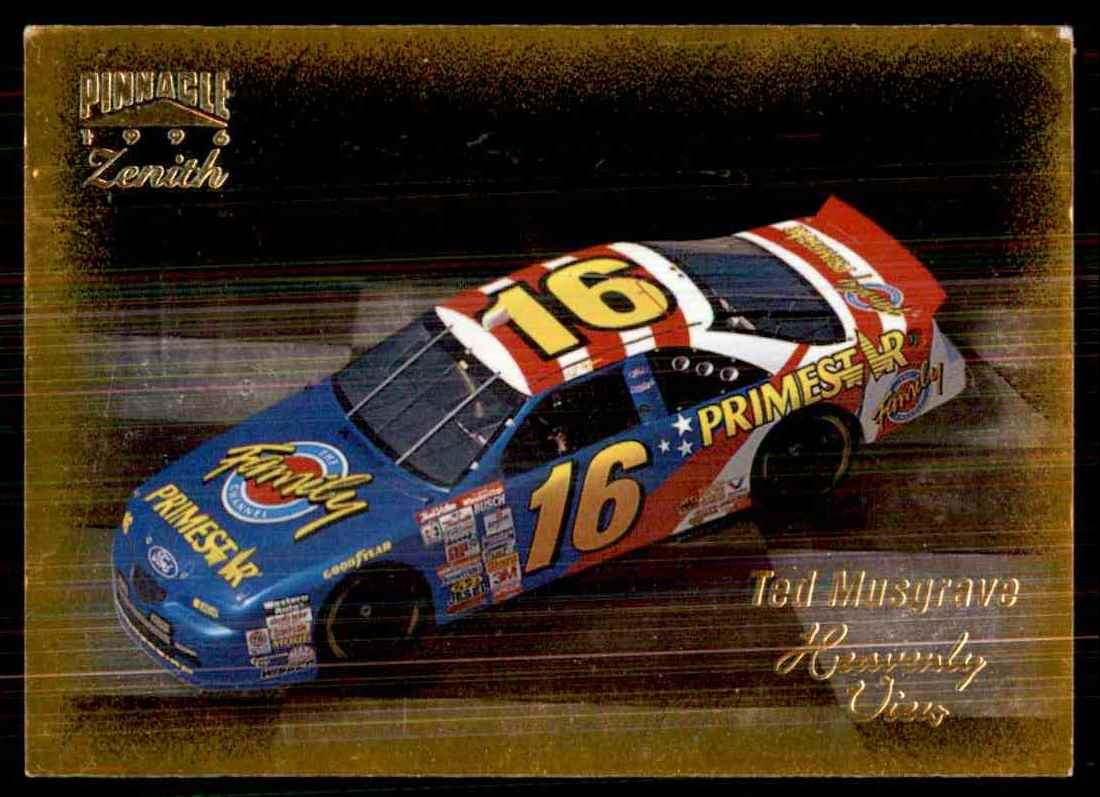 1996 Zenith Ted Musgrave's Car Hv #47 card front image
